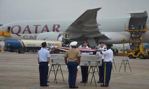 US repatriates soldiers who died during Vietnam War