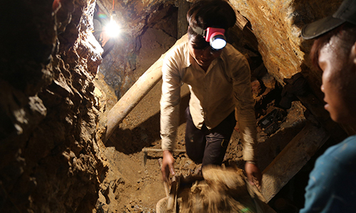 Captive workers rescued from illegal gold mine in central Vietnam