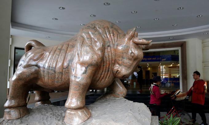 Vietnam's stock market posts highest gain in Asia