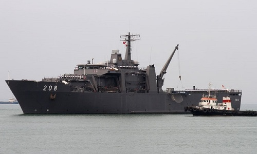 Singaporean stealth warship to pay four-day visit to central Vietnam