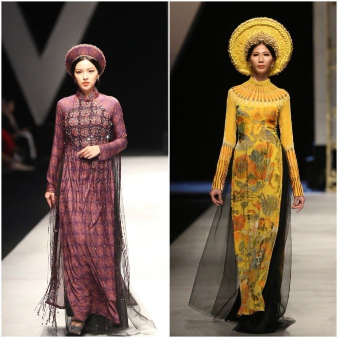 Back to basic: the traditional Vietnamese dress ao dai by designer Bao Bao.