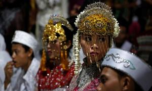 Viral photo prompts Indonesian government to move towards banning child marriage