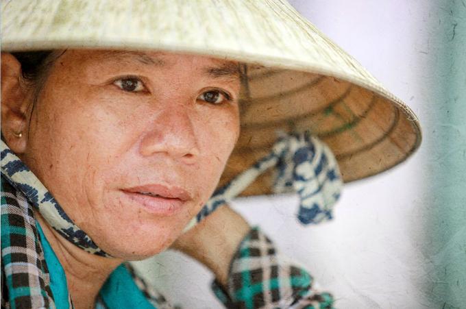 Hiep, the tofu vendor in Saigon. Photo by VnExpress/Thanh Nguyen