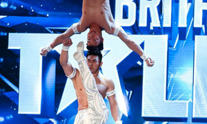Vietnamese world record-breaking circus artists wow UK talent show