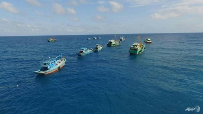 Indonesia seizes two Vietnamese fishing boats in crackdown