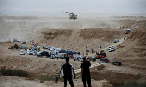 Nine teenagers dead, one missing in southern Israel flash flood