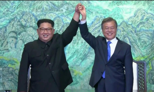 'Peace and prosperity': Korean leaders plan declaration after rare summit