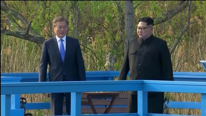 China hails 'courage' of North, South Korean leaders