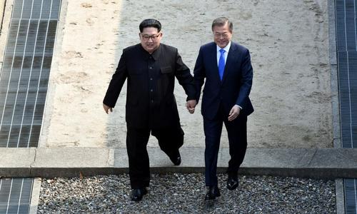 Korean leaders hold first summit in over a decade