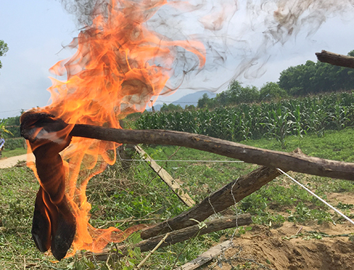 Oil leak from mineral firm named source of flammable groundwater in central Vietnam