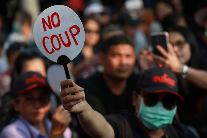Thai environment protesters stage largest demonstration since start of military rule