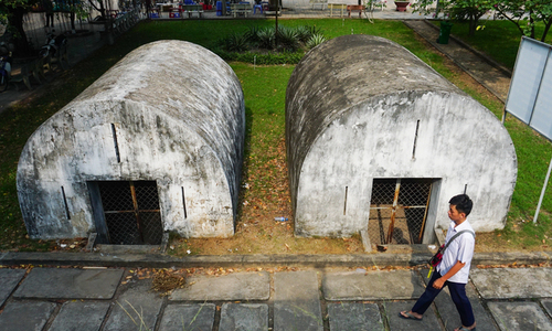 Blast from the past: American blockhouses a reminder of war
