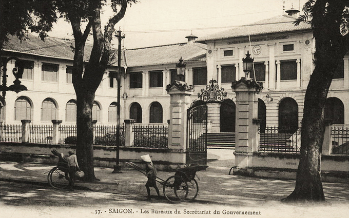 The old French government building at 59-61 Ly Tu Trong in Saigon is earmarked for destruction under a plan to build a new city administration center. Photo provided by Tim Doling