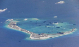 US says will be consequences for China's militarization in disputed waters