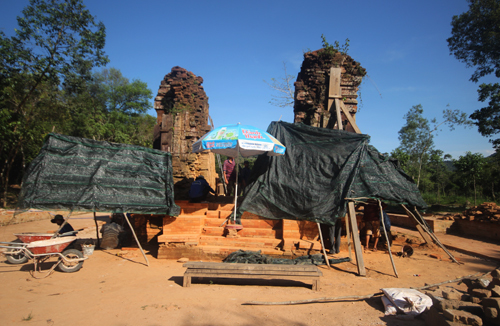 Vietnamese, Indian experts at odds over restoration of UNESCO relic
