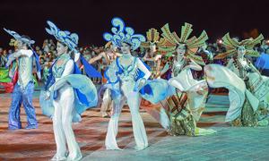 Da Nang parties to extravagant street carnival