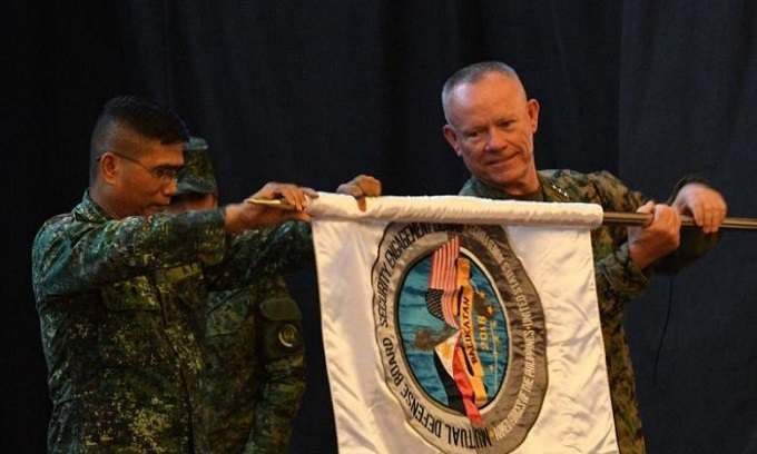 US-Philippine war games open under pro-China Duterte
