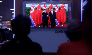 North Korean leader Kim visits China, meets President Xi