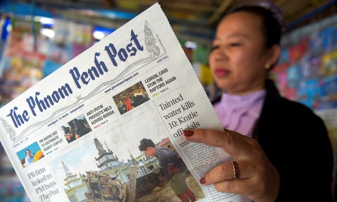 More walkouts over new ownership of embattled Cambodian newspaper