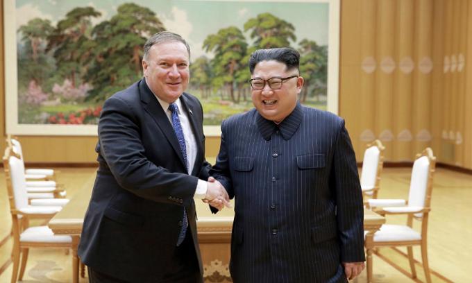 Three Americans freed by North Korea head home, thank Trump