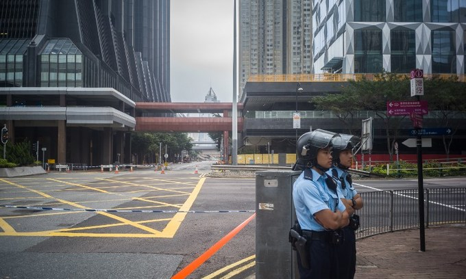 Hong Kong police disarm third WWII bomb discovered this year