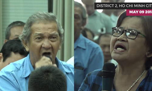 Tears and frustration at Ho Chi Minh City meeting with Thu Thiem residents