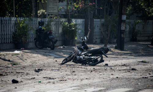 Indonesia church attacks kill nine, dozens wounded
