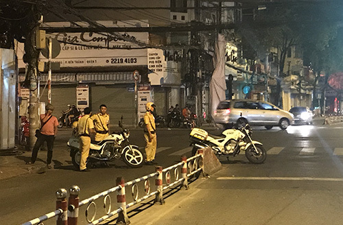 Police raid downtown Saigon restaurant for drugs, 'sexy' services