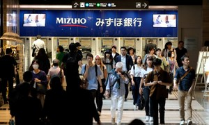 Japan economy shrinks after two years of growth