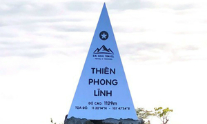 Province removes summit monument mistaking Vietnamese mountain as China's