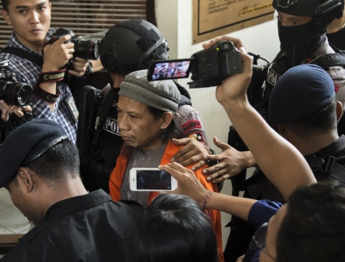 Indonesia prosecutors demand death for radical leader over 2016 attacks