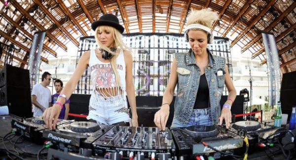 The two female DJs will be the perform their hit songs at this year event.
