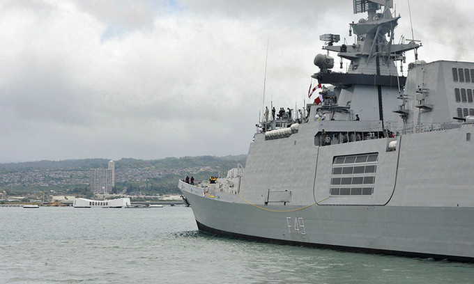 Three Indian navy ships to pay five-day visit to Vietnam