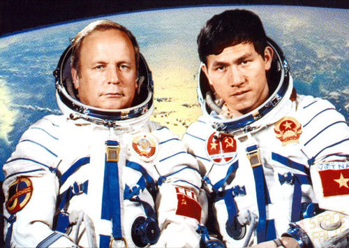 Home isn't just Vietnam, it's Earth: Asia's 1st astronaut recalls historic journey