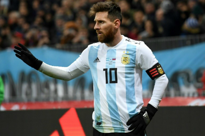 Argentina superstar Lionel Messi is Bangladeshs new favorite. Photo by AFP