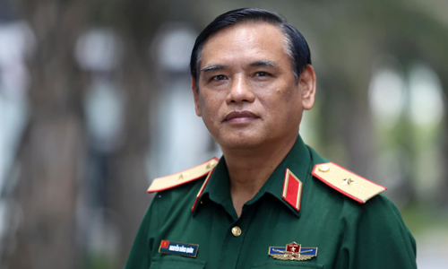 Major general Nguyen Hong Quan. Photo by VnExpress/Giang Chinh
