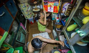 Close quarters: Vietnam's downtown dwellers cling to tiny plots