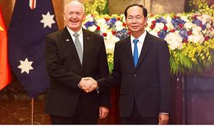 Vietnam, Australia share concerns over regional maritime security