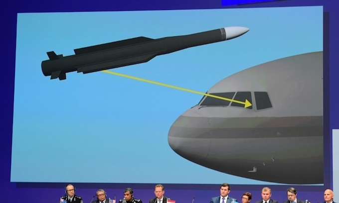 Missile that downed MH17 plane came from Russian military: investigators