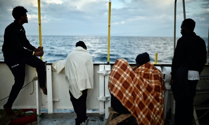 Nearly 1,500 migrants rescued in Mediterranean in two days