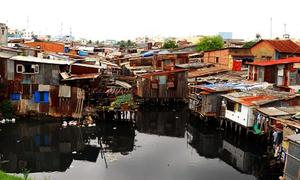 Million-dollar slums: Lack of fund undermines effort to clear Saigon shantytowns