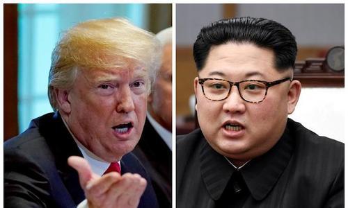 US team in North Korea for talks on summit, Trump says