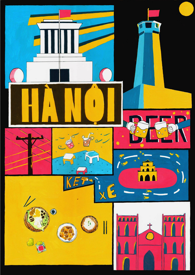 The Best Idea prize went to Hanoi by Do Phuong Thao, 20.