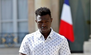 French family of rescued boy thanks hero Malian 'Spiderman'