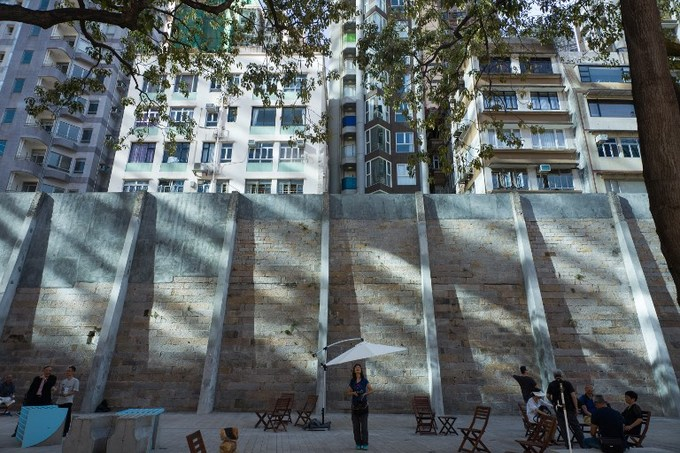 Former Hong Kong prison reinvented in heritage push