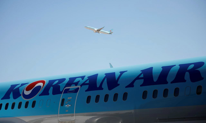 Prosecutors raid Korean Air HQ over suspected embezzlement by owning family: Yonhap