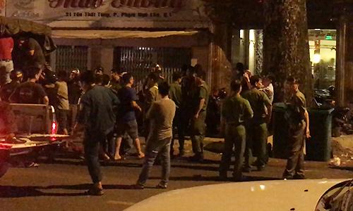 Downtown Saigon raids net drug users, pimps, sex workers
