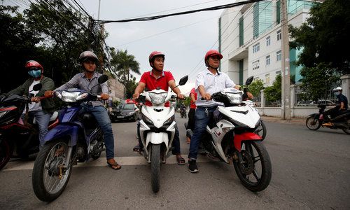 Knight riders to the rescue: Vietnam vigilantes bust crooks
