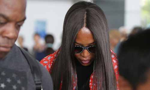 Naomi Campbell in surprise visit to Vietnam