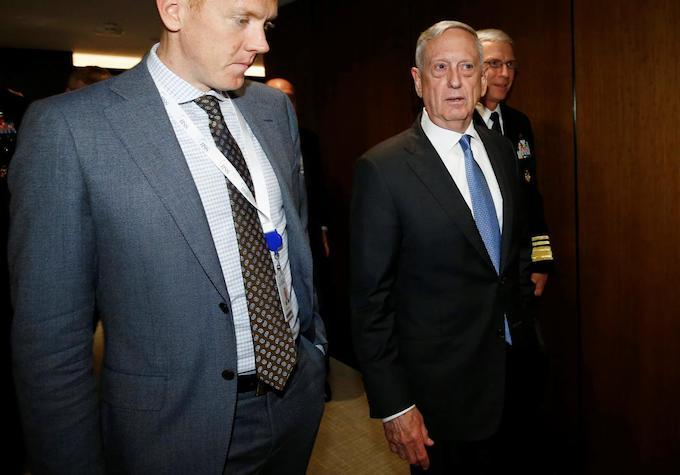 Mattis slams China on S.C. Sea, leaves door open for 'results oriented relationship'